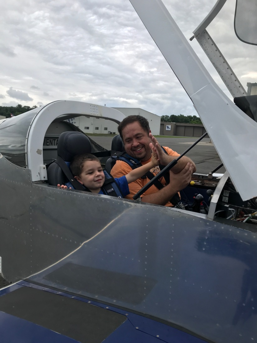 Zack Gets First GA Flight in Experimental